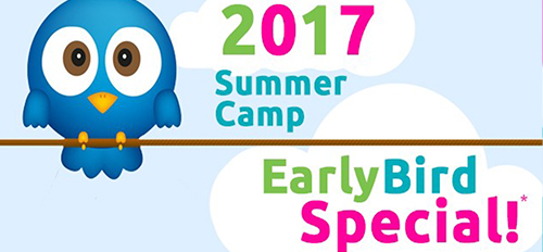 Summer Camp Early Bird Special